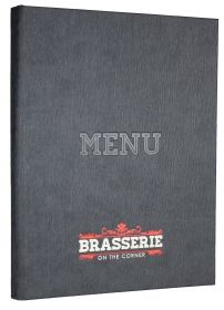Paris Menu Covers