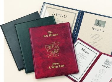 Snaefell Menu Covers