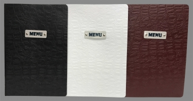 Alligator Menu Covers