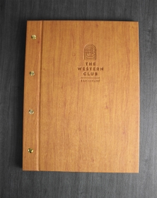 Washington Menu Covers